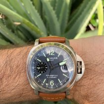 Panerai Luminor GMT Automatic Titanium 44mm Black