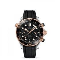 Omega 210.22.44.51.01.001 Gold/Steel Seamaster Diver 300 M 44mm new