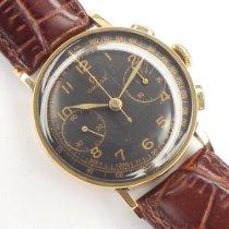 Omega Gelbgold Handaufzug omega chronograph gebraucht Deutschland, Berlin