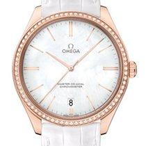 Omega 43258402105001 De VIlle Tresor Gold White Diamonds