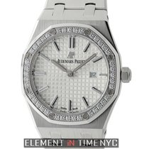 Audemars Piguet Royal Oak Stainless Steel Diamond Bezel 33mm...