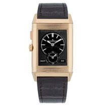 Jaeger-LeCoultre Grande Reverso Ultra Thin Duoface Rose gold 46.8mm Black