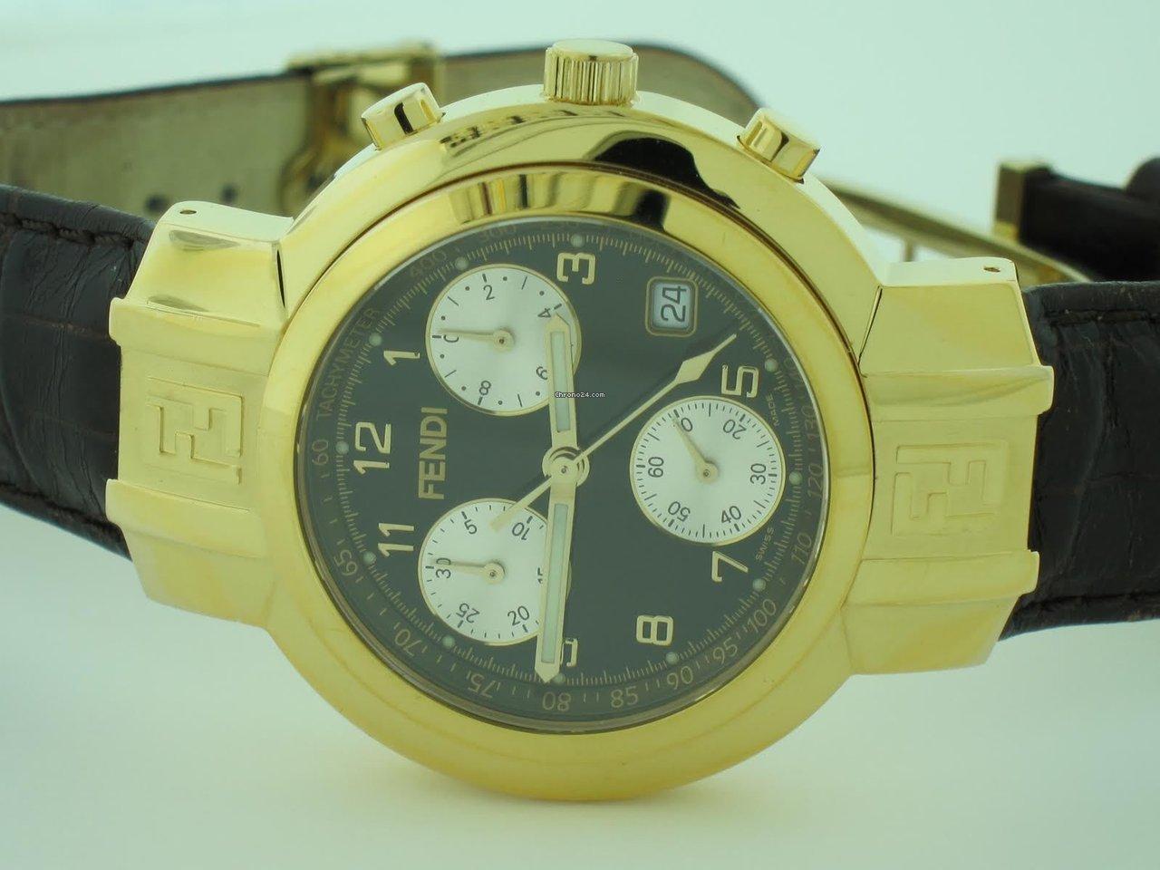 quality design 456d3 60f42 Fendi Orologi Chronograph 18K Gold