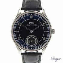 IWC Portuguese Hand-Wound tweedehands 44mm Staal