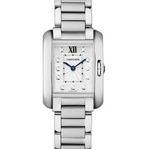 Cartier W4TA0003 Tank Anglaise Ladies Quartz in Steel - On...