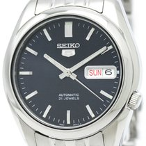 Seiko 5 Date Steel Automatic Watch Snk357k1(7s26-01v0) Bf307288