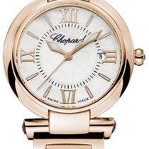Chopard nowość Kwarcowy 28mm Złoto różowe Szkiełko szafirowe