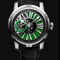 Louis Moinet Metropolis Steel 43,2mm Green