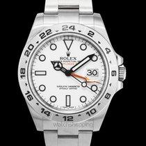 Rolex Explorer II White/Steel Ø42 mm - 216570