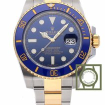 Rolex Submariner bi color steel gold bue dial bezel 116613lb