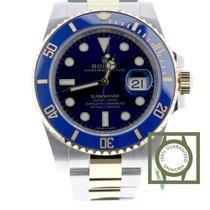 Rolex Submariner Date Or/Acier 40mm Bleu Belgique, Antwerp