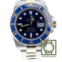 Rolex Submariner Date Gold/Steel 40mm Blue