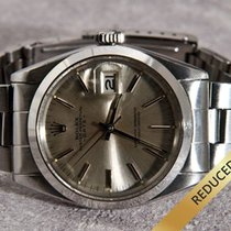 Rolex Oyster Perpetual Date Silver Dial & Index