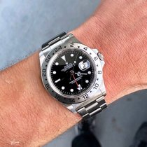 Rolex Explorer Ii 16570 Black Dial 40mm Steel Automatic Watch