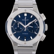 Hublot Classic Fusion Chronograph Titanium 45mm Blue United States of America, California, San Mateo