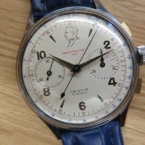 Orator 37mm Manual winding 1950 pre-owned Silver