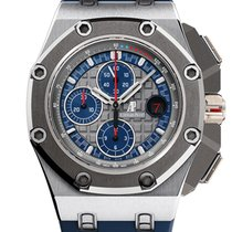 Audemars Piguet Royal Oak Offshore Chronograph Platinum 44mm United States of America, New York, New York