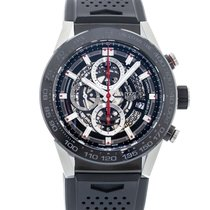 TAG Heuer Carrera Calibre HEUER 01 pre-owned 45mm Steel