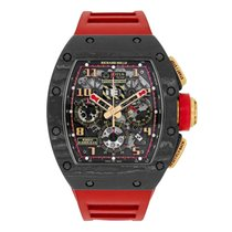 Richard Mille Rose gold 50mm Automatic RM011 pre-owned