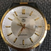TAG Heuer Carrera Calibre 5 pre-owned Gold/Steel