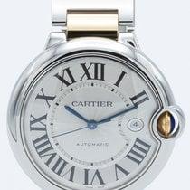 Cartier Ballon Bleu 42mm Steel 42mm Roman numerals