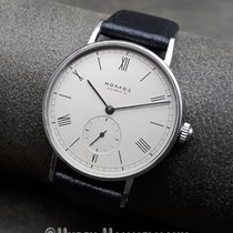 NOMOS Ludwig Staal 35mm Zilver Romeins