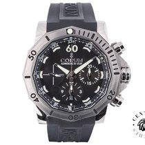 Corum Admiral's Cup (submodel) nuevo 2013 Automático Cronógrafo Reloj con estuche y documentos originales 753.451.04.0371.AN22