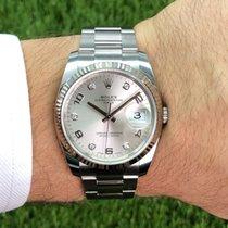 Rolex Oyster Perpetual Date Stahl 34mm Silber Deutschland, Düsseldorf