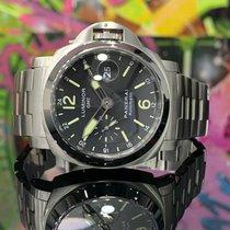 Panerai Luminor GMT Automatic Acier 44mm Noir Arabes France, Paris