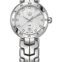 TAG Heuer Link Lady WAT1411.BA0954 - TAGHEUER Silver Dial with Diamonds new
