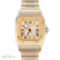 Cartier Santos Medium W20011C4 Steel / Gold Papers 10/19996 D