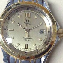 Omega Seamaster Watch Ladies' Steel Gold 18K, Quartz