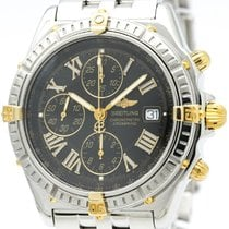 ブライトリング (Breitling) Crosswind 18k Gold Steel Automatic Watch...
