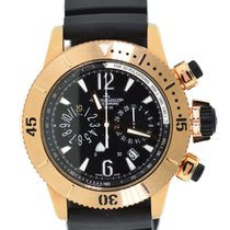 Jaeger-LeCoultre Master Compressor Diving Chronograph Rose gold 44mm Black United States of America, New York, New York