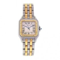 Cartier Panthere 18k Yellow Gold & Stainless Steel Quartz...