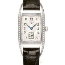 Longines BelleArti Steel 30mm Mother of pearl Arabic numerals