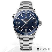 Omega Seamaster Planet Ocean Сталь 44mm Синий Без цифр