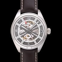 Hamilton Khaki Field Skeleton Acier 42mm Transparent