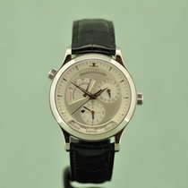 Jaeger-LeCoultre Master Geographic Acero 38mm Plata