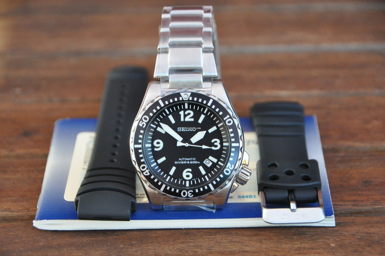Seiko Srp043k1 K2 Spork Automatic Divers 200m For 849 Sale Skx007k2 Black Dial From A Private Seller On Chrono24