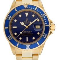 Rolex Submariner Date Yellow gold 40mm Blue United Kingdom, London