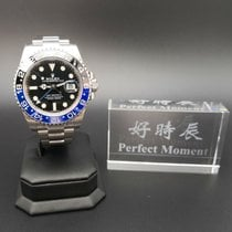 劳力士  GMT-MASTER II 116710BLNR batman