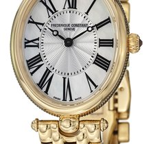 Frederique Constant Classics Art Deco Gold/Steel Mother of pearl United States of America, New York, Brooklyn