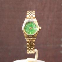Rolex vintage Lady-Datejust original 'Stella' green dial