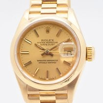 Rolex Yellow gold Automatic Gold 26mm pre-owned Datejust