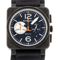 Bell & Ross BR 03-94 Chronographe Steel 42mm Black United States of America, Georgia, Atlanta