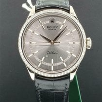 Rolex Cellini Time Oro blanco 39mm Plata