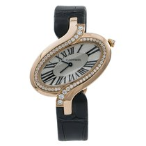 Cartier Délices de Cartier Rose gold 25mm Silver Roman numerals United States of America, New York, New York