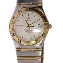 Omega Constellation Gold/Steel White No numerals
