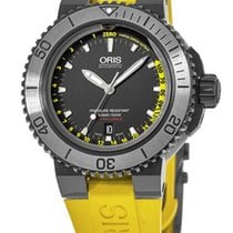 63e5ea482 Oris Aquis Depth Gauge new Automatic Watch with original box 01 733 7675  4754- Set